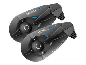 Interphone F4XT Twin Pack motoros bluetooth headset